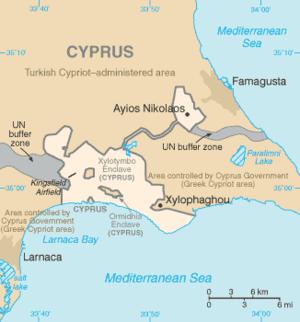 Karta Famagusta Cypern.Akrotiri Och Dhekelia Wikiwand