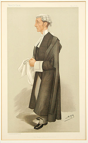 Henry Fielding Dickens - Dickens by 'Spy' in Vanity Fair in 1897