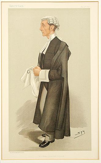 Henry Fielding Dickens - Dickens by 'Spy' in Vanity Fair in 1897