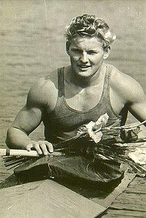 Dieter Krause East German canoe racer