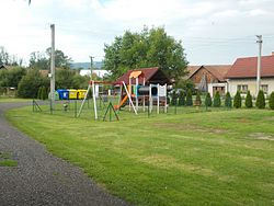 Playground on the village green