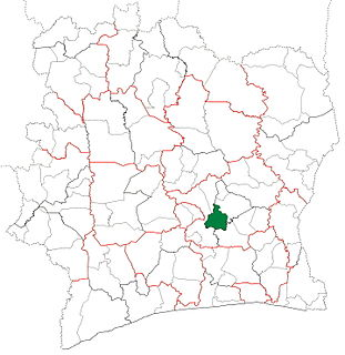 Dimbokro Department Department in Lacs, Ivory Coast