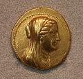 Dinastia tolemaica, berenice II, octodracma di euergetes, 246-222 ac ca.JPG