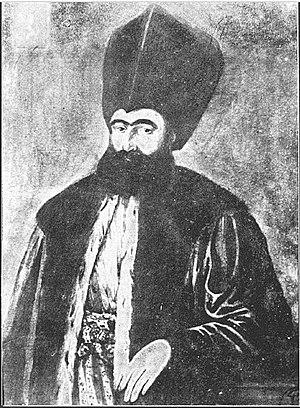 Dinicu Golescu - Portrait of Dinicu Golescu