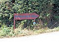Direction sign for Manley Old Hall - geograph.org.uk - 214265.jpg