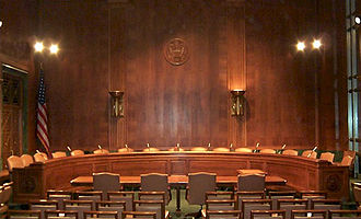 United States Senate - Committee Room 226 in the Dirksen Senate Office Building is used for hearings by the Senate Judiciary Committee.