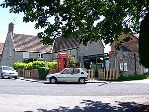 Ditcheat - Image: Ditcheat Post Office geograph.org.uk 454919