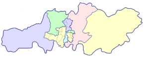 Division of Changsha in 2008.png