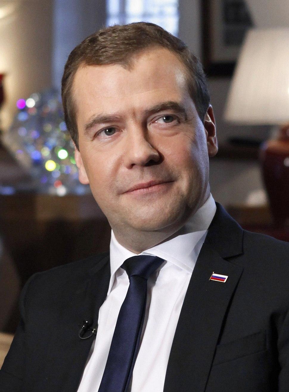 Dmitry Medvedev Portrait