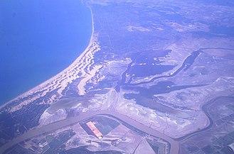 Doñana National Park - Doñana - Aerial view of Doñana National Park and surrounding areas