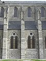 Dol-de-Bretagne (35) Cathédrale Flanc nord de la nef 02.JPG