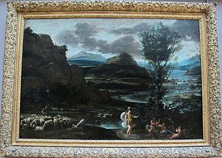 Herminie chez les bergers