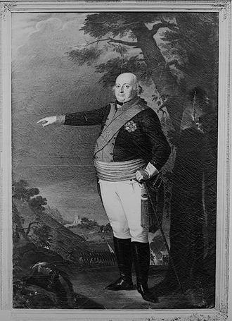 Dominic Constantine, Prince of Löwenstein-Wertheim-Rochefort - Image: Dominik Constantin, 4. Fürst zu Löwenstein Wertheim Rochefort (1762 1814)