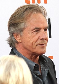 Don Johnson American actor and singer