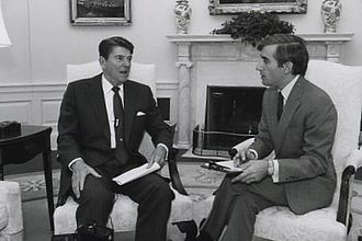 Donald Lambro - An interview with Ronald Reagan in 1981