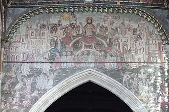 Hellmouth - Salisbury Doom painting