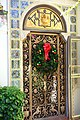 Doorway with tiles - Hearst Castle - DSC06383.JPG