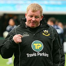 Description de l'image  Dorian West - Northampton Saints vs Sale October 2009.jpg.