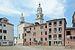 Dorsoduro Campazzo San Sebastiano Chiesa dell'Angelo Raffaele a Venezia.jpg