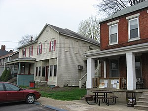 National Register of Historic Places listings in Brooke County, West Virginia - Image: Downtown Bethany, West Virginia