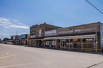 Whitney, Texas - Downtown Whitney