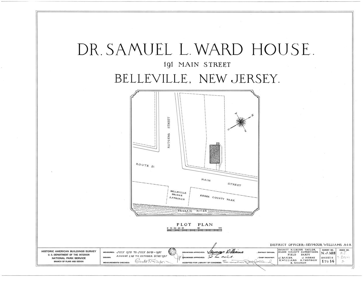 File:Dr  Samuel L  Ward House, 191 Main Street, Belleville
