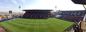 Stadionul Dr. Constantin Rădulescu - Image: Dr Constantin Radulescu Stadium (8122856688)