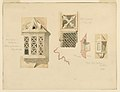 Drawing, Rendering of Two Stone Lanterns, from the Castle in Amboise, France, June 14–15, 1888 (CH 18570005-2).jpg