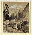 Drawing, The North Dome, Yosemite, California, 1872 (CH 18189487).jpg
