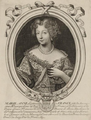 Drawing of Marie Anne, Légitimée de France, Princess of Conti by Larmessin.png
