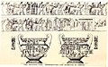 Drawing of the François Vase with the Marriage of Thetis and Peleus from The Open court (1887) (14780677894)-white balanced rotated slightly resized.jpg