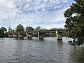 Dreamworl Parkway bridge over Coomera River in Oxenford, Queensland.jpg