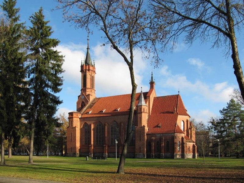 Druskininkai Virgin Mary church