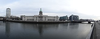 The Custom House - Image: Dublin Custom House Panorama 2012