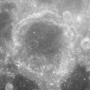 Dubyago (crater) - Image: Dubyago crater AS15 M 0938