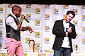 Dulé Hill & James Roday (9344128165).jpg