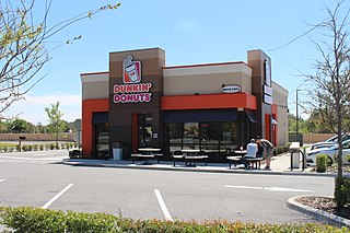 Dunkin Donuts American multinational coffee company and quick service restaurant