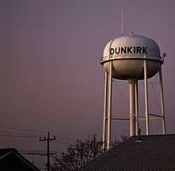 Dunkirk, Indiana Water Tower