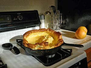 Dutch baby pancake - Image: Dutchbaby DSCN8394