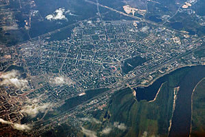 Dzerzhinsk, Russia - Dzerzhinsk aerial view