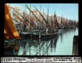 ETH-BIB-Chioggia, Segler-Gewirr von Süden v.d. Sottomarina-Brücke-Dia 247-10777.tif