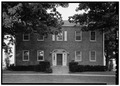 EXTERIOR, WEST FRONT - James Whallon House, 11000 Winton Road, Greenhills, Hamilton County, OH HABS OHIO,31-MOUH.V,1-4.tif