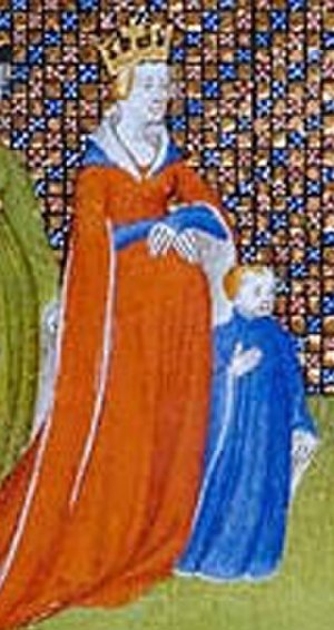 Eadgifu of Wessex - Eadgifu of Wessex, with her son Louis IV