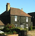 Early 19th century weatherboarded cottages - geograph.org.uk - 271969.jpg