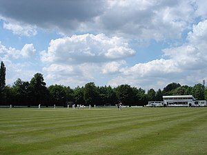 Hurst Park Club Ground - Image: East Molesey cricket club geograph.org.uk 1331533