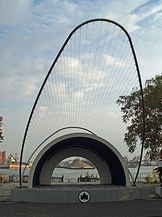 East River Park - The amphitheater