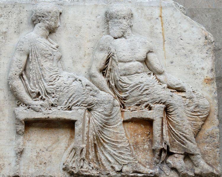 Файл:East frieze 36-37 Parthenon BM.jpg — Википедия