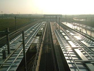 Ebbsfleet International railway station - Image: Ebbsfleet 3716