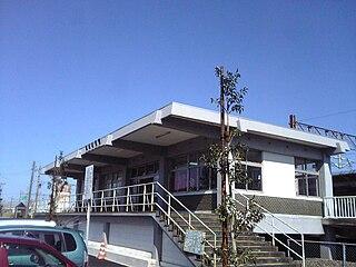Echizen-Hanandō Station Railway station in Fukui, Fukui Prefecture, Japan