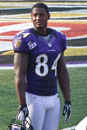 Ed Dickson - Dickson at Ravens practice in August 2012